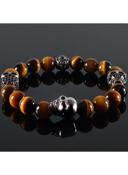 JayC's Men's Bracelet Breaking Bad Skull