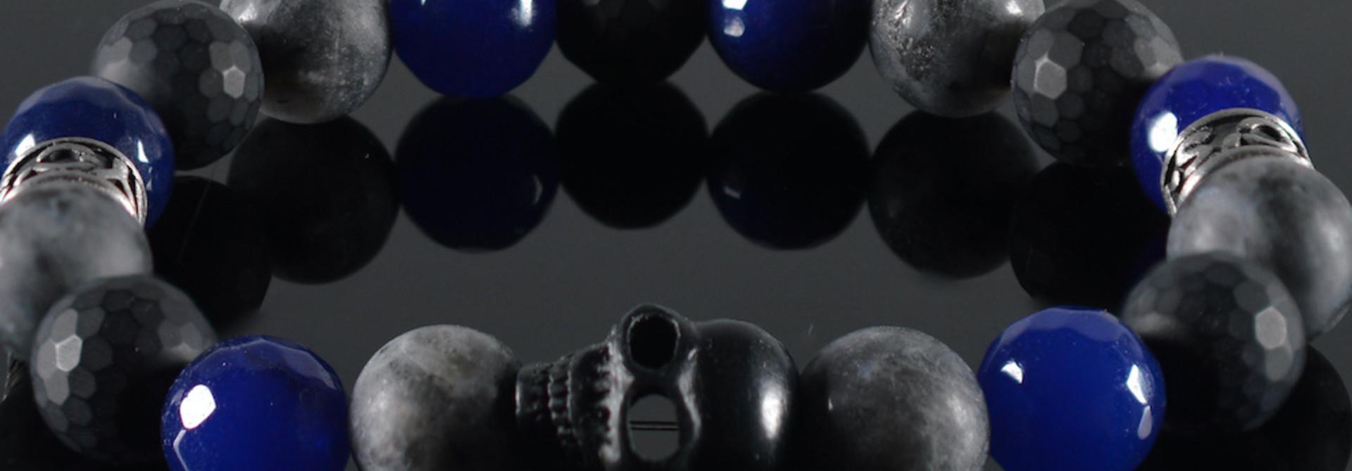 Armband heren Skull
