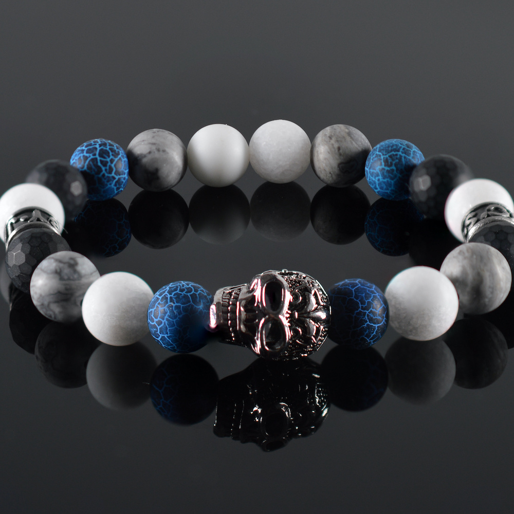 Armband heren Skull-1