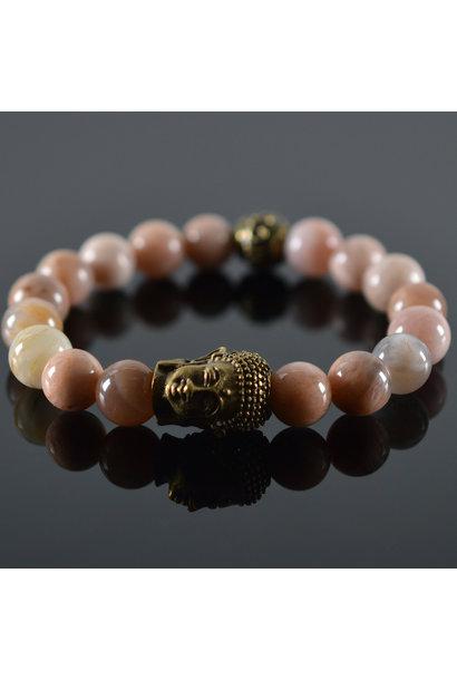 Dames armband Roses Buddha