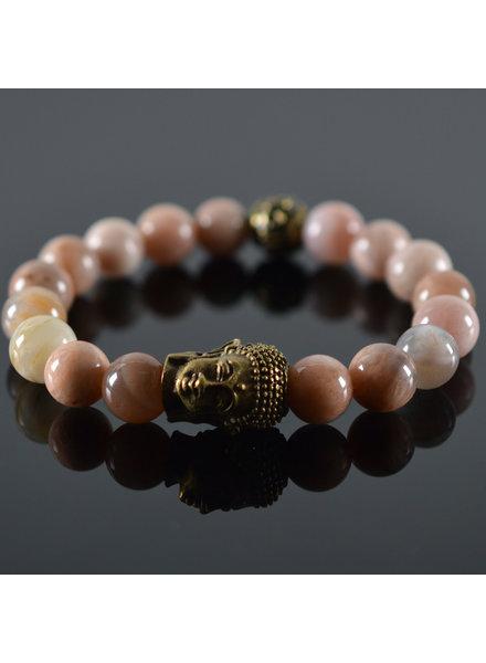 JayC's Dames armband Roses Buddha