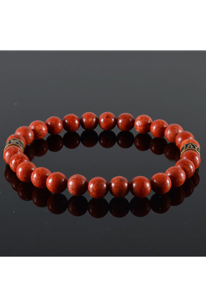Heren armband Red