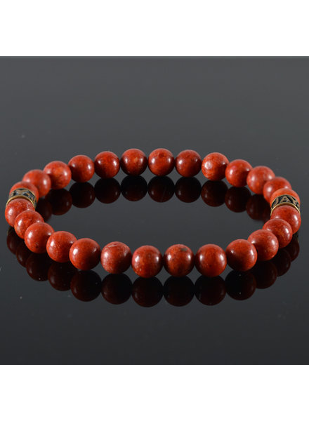 JayC's Heren armband Red