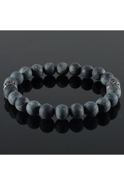 Men's bracelet Vert Fonce III
