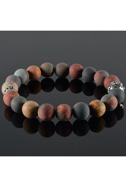Men's bracelet Red-brown