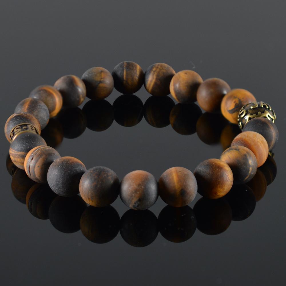 Armband heren Oeil de Chat II-1