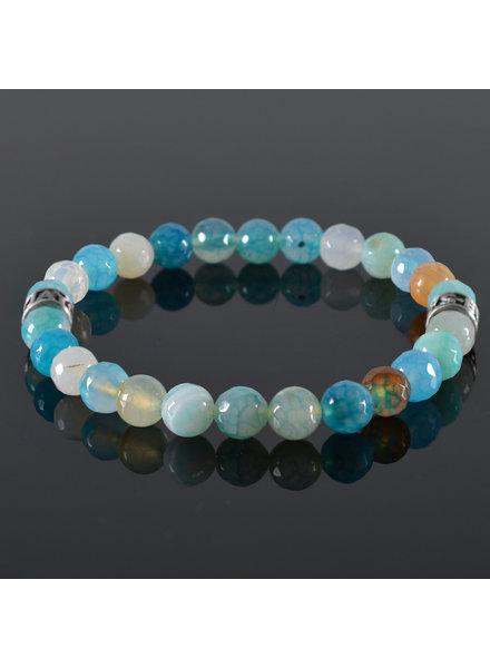 JayC's Men's bracelet Blue Lagoon II