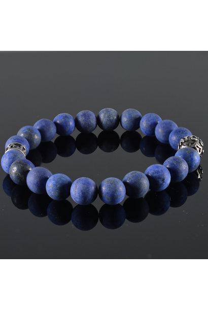 Men's Bracelet Bleu Fonce Mat
