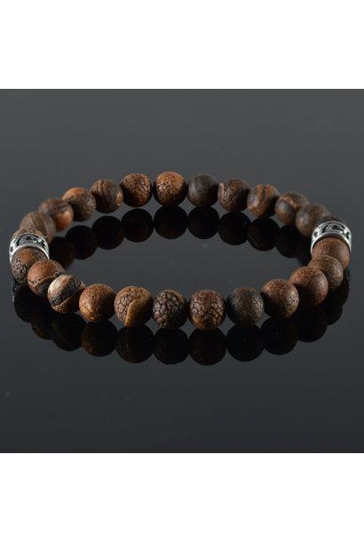 Heren armband Brun Antique