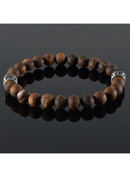 JayC's Men's bracelet Brun Antique