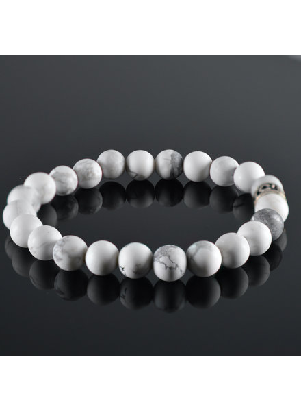 JayC's Men's bracelet White