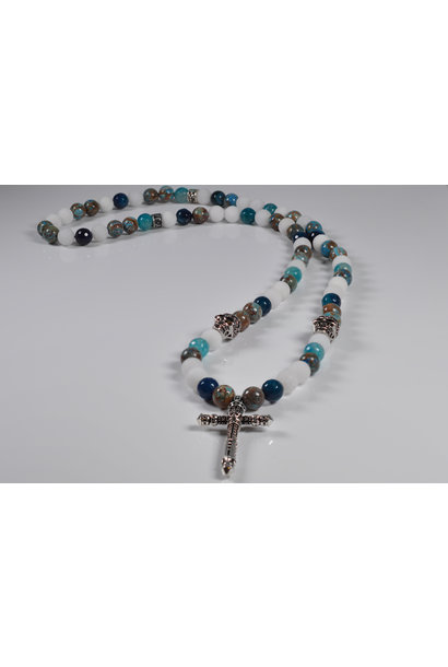 Men's Necklace Serengeti Cross