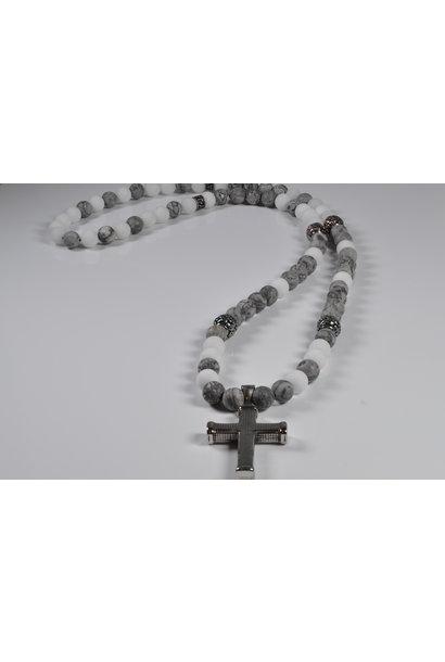Men's necklace Skull Patazulie I