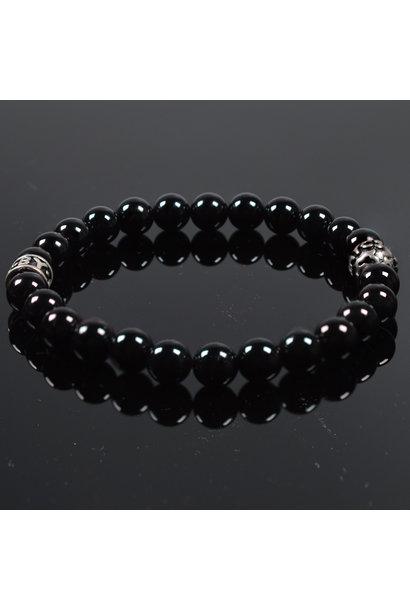 Heren armband Noir Brillant