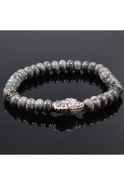 Heren armband Buddha Bali