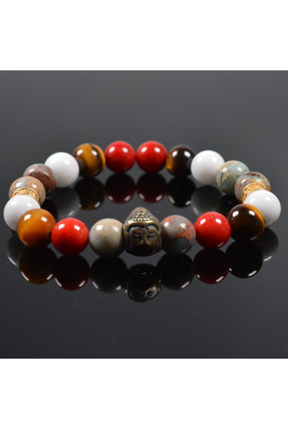Heren armband Tricolore