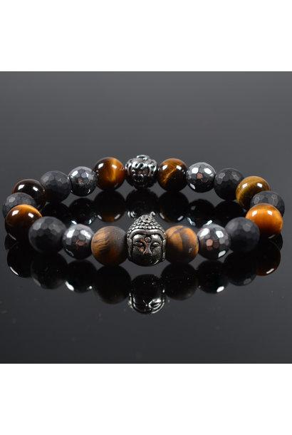 Heren armband Believer Buddha