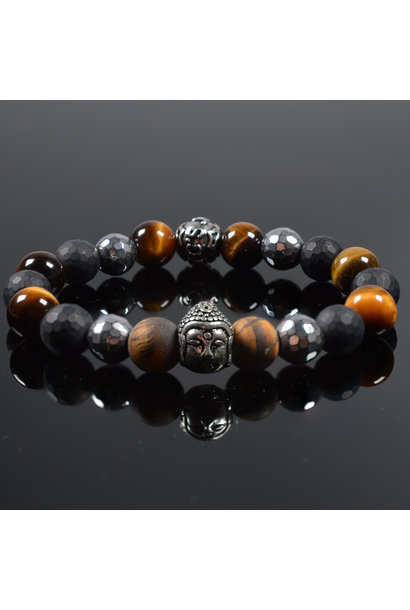 Men's bracelet Believer Buddha