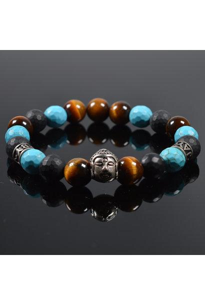 Heren armband Bediga Buddha