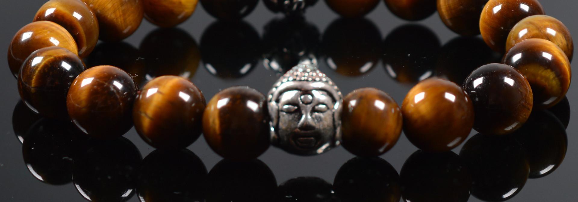 Armband heren Buddha Damask