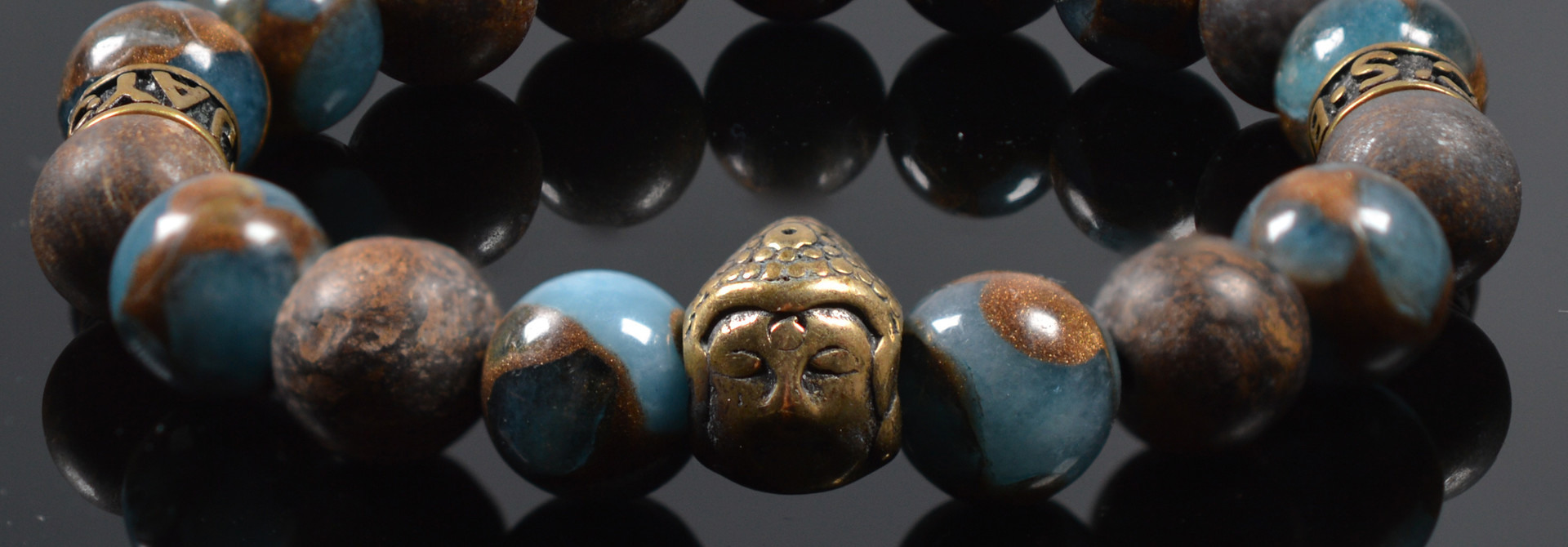 Armband heren Buddha For your Eyes only