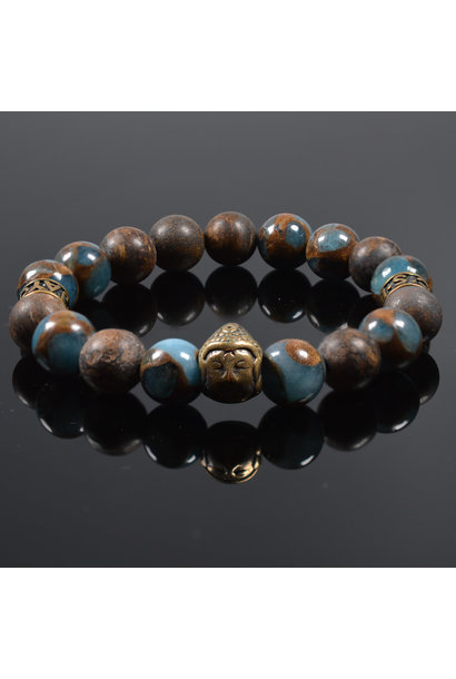Heren armband For your Eyes only Buddha