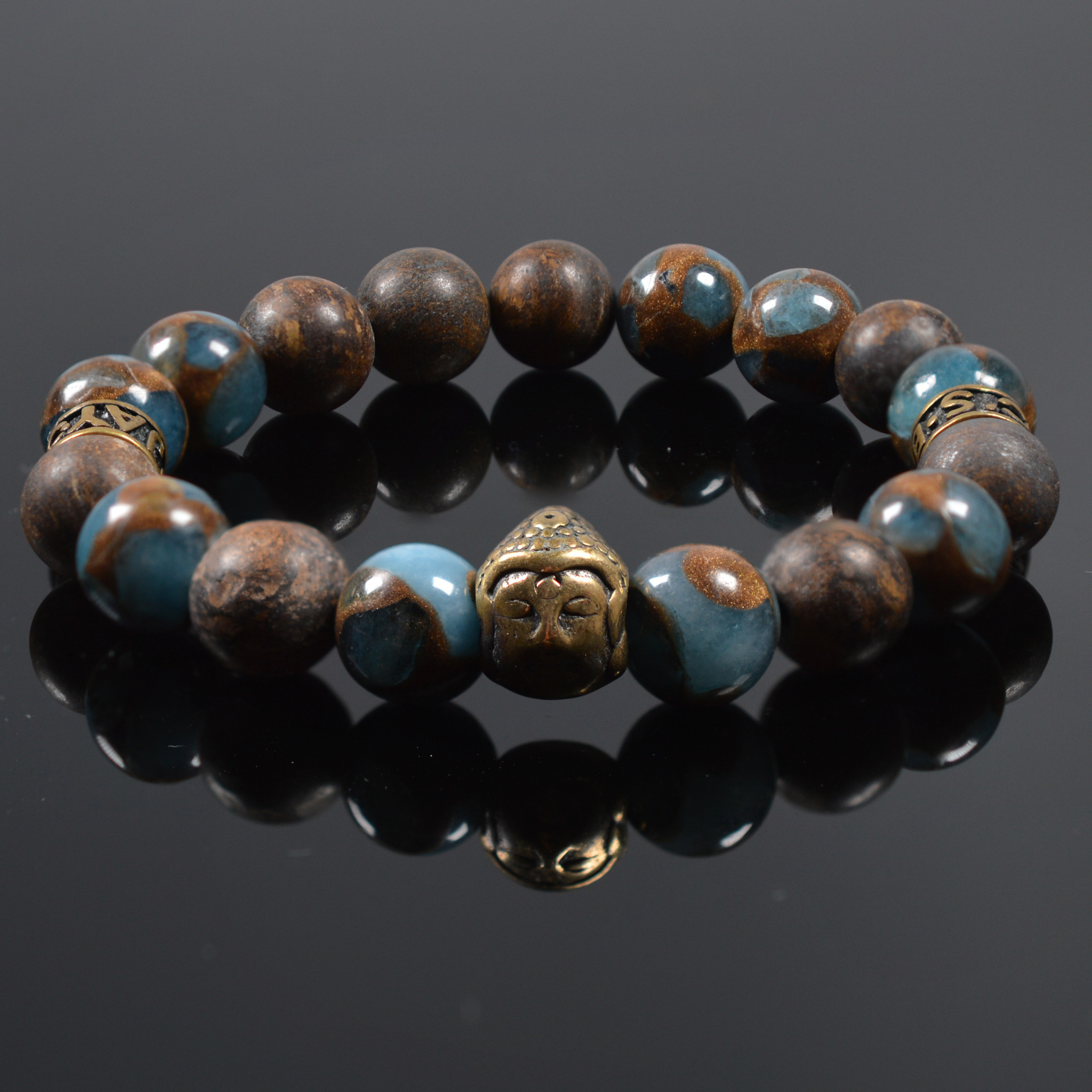 Armband heren Buddha For your Eyes only-1