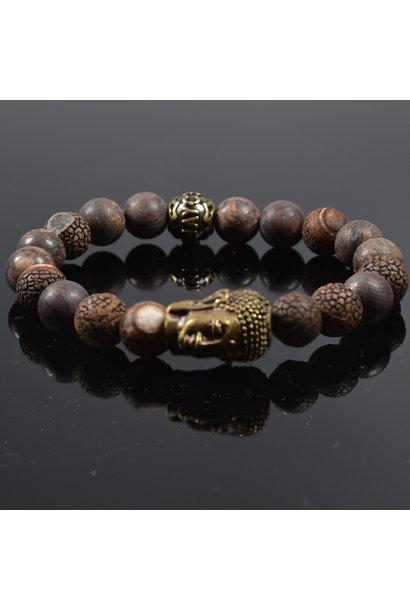 Unisex armband Manjana Buddha