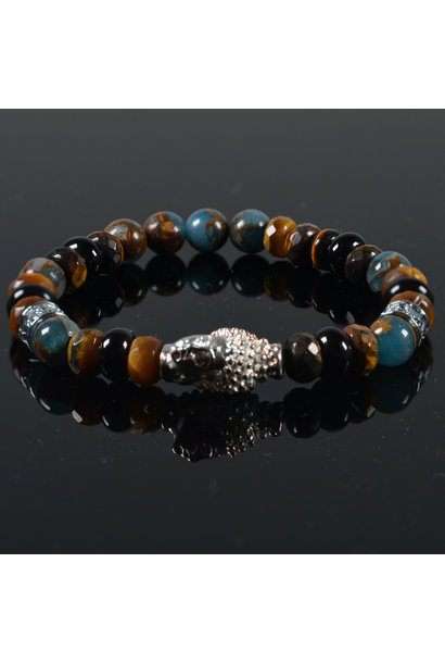 Heren armband Kiomi Buddha
