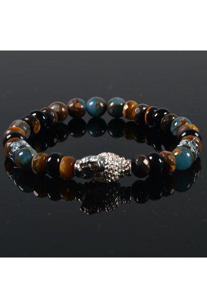 Herren Armband  Kiomi Buddha
