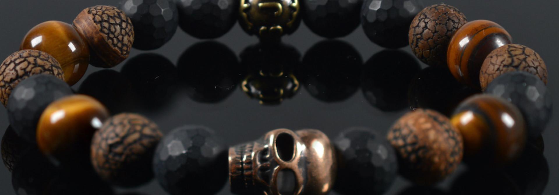 Armband heren  Meidera Skull