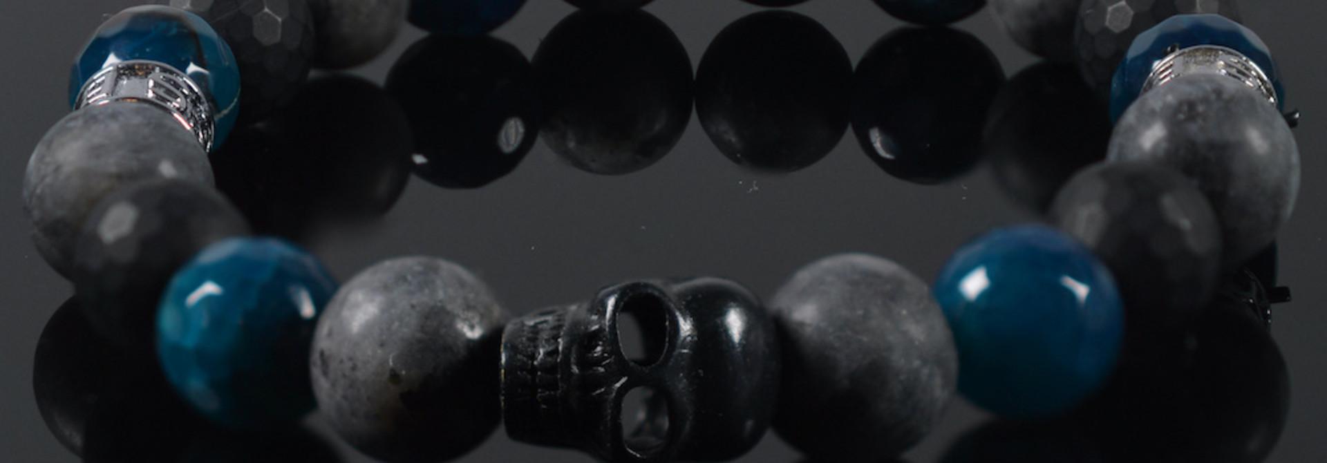 Armband heren  Shades Skull