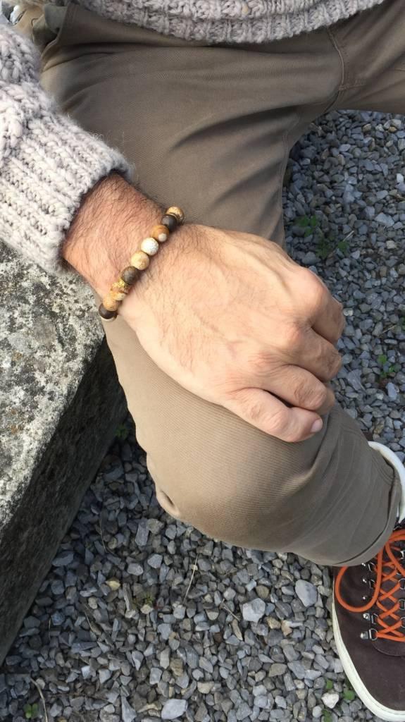 Armband Heren Bourgondi-2