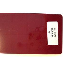 Lakstift in Wesco kleur robijn rood