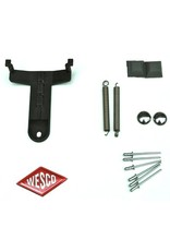 Wesco Wesco Kickmaster-set T-stuk
