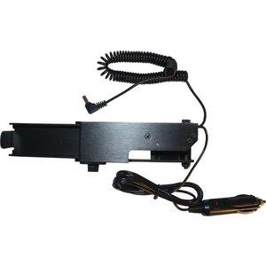 Tele Radio Laadstation 12v (Houder-lader combinatie) met krulsnoer voor 10 knops handzenderCharging station 12v (holder-charger combination) with curling cable for 10-button transmitter