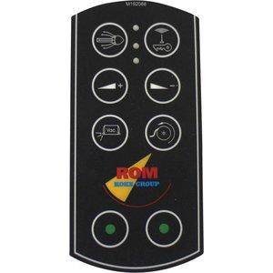 Tele Radio ROM folie ten behoeve van handzender voor afstandsbediening 7 kanaals