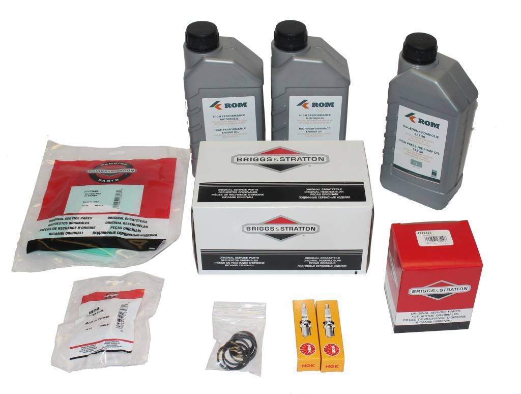Maintenance kit for periodic service to hp unit with B&S
