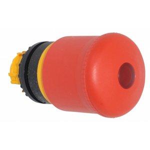 Rode knop (lang) met LED indicatie ten behoeve van noodstop