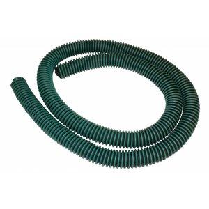 Flexibele slang versterkt diameter 45 mm  Groen - Zwart (afloop olieafscheider) Per meter