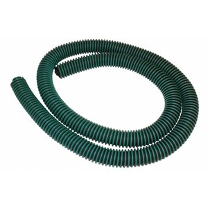 Flexible hose reinforced  diameter 45 mm  Green - Black (drain - oil seperator) Per meter