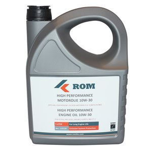 ROM High Performance Motorolie 10W30 (5 liter kan)