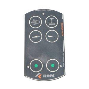 Tele Radio ROM folie voor 6 knops Easy-Remote handzender