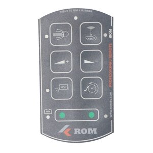 Tele Radio ROM foil for 8-button Professional-Remote transmitter with iROM