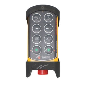 Tele Radio ROM Professional-Remote handzender 8 knops