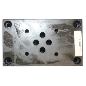 Pilot plate for control valve 4/3 for hydraulic (remote control)