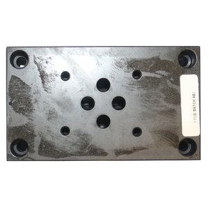 Voetplaat voor Stuurschuif 4/3 t.b.v. hydraulisch (afstandsbediening)