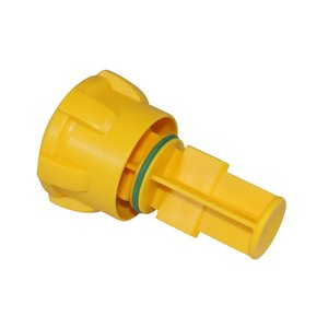 """Control cap for water filter 1 1/2"""" with valve"""
