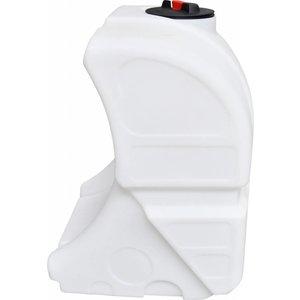 Watertank Flexi - compleet gefit (Grijze uitvoering) - HD Pomp zijde