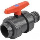 Ball valve plastic 50 mm